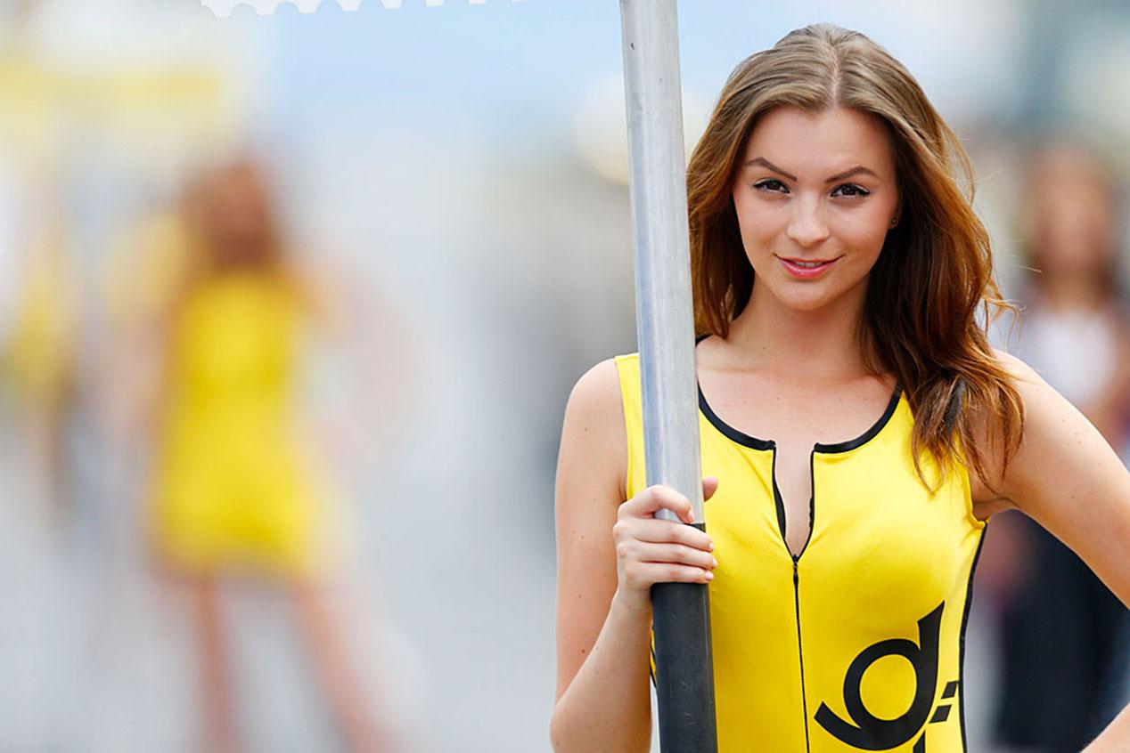 Las chicas más espectaculares del DTM 2014