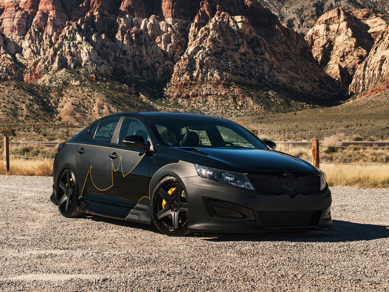 Kia Optima de Batman