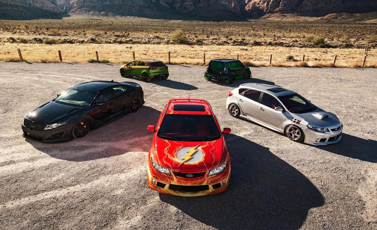 5 coches para acabar con los monstruos de Halloween