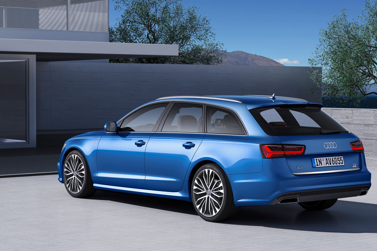Contacto: Audi A6, renovación ultra