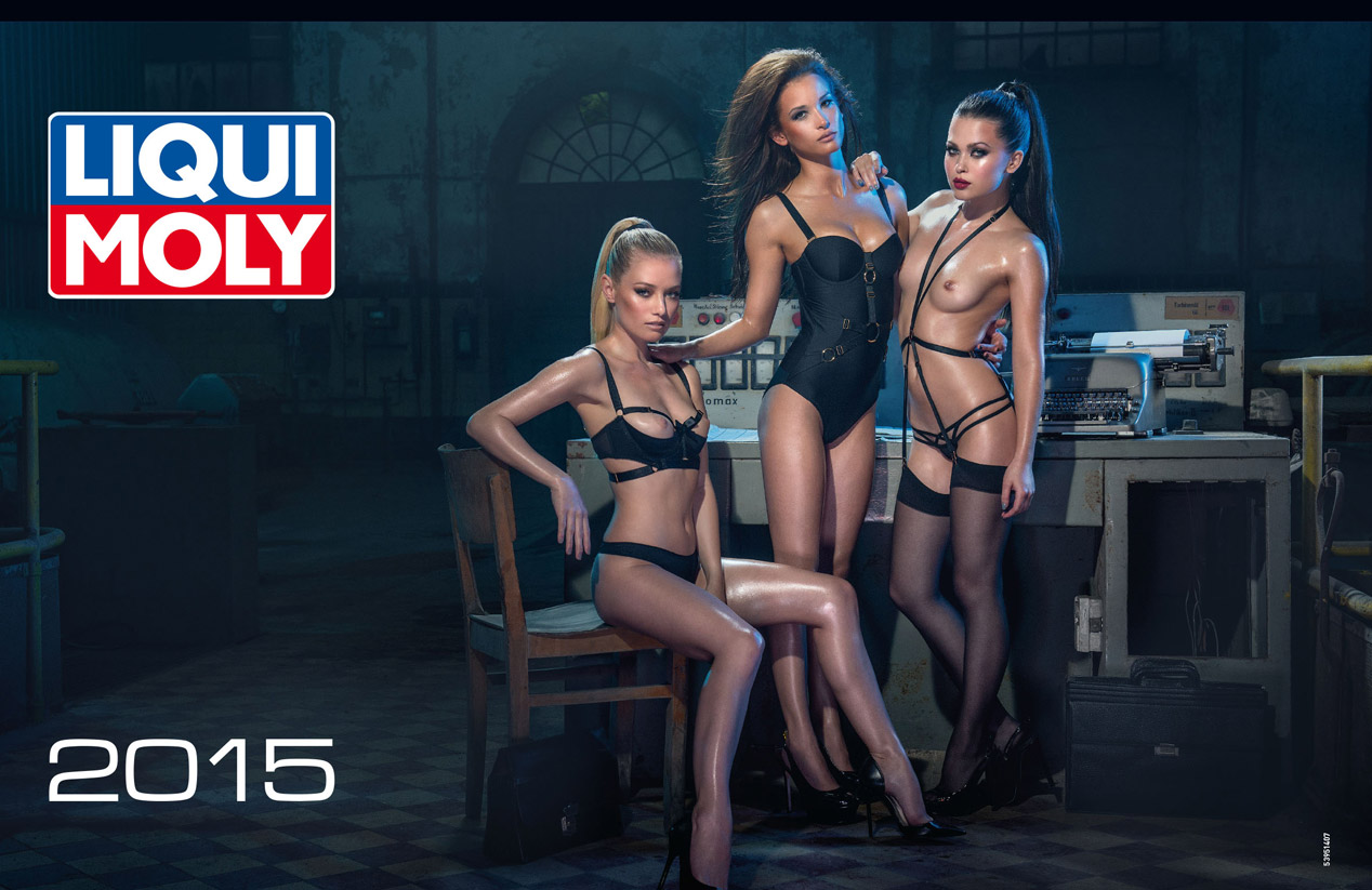 galer a liqui moly 2015 calendario erotico 43853 autopista. Black Bedroom Furniture Sets. Home Design Ideas