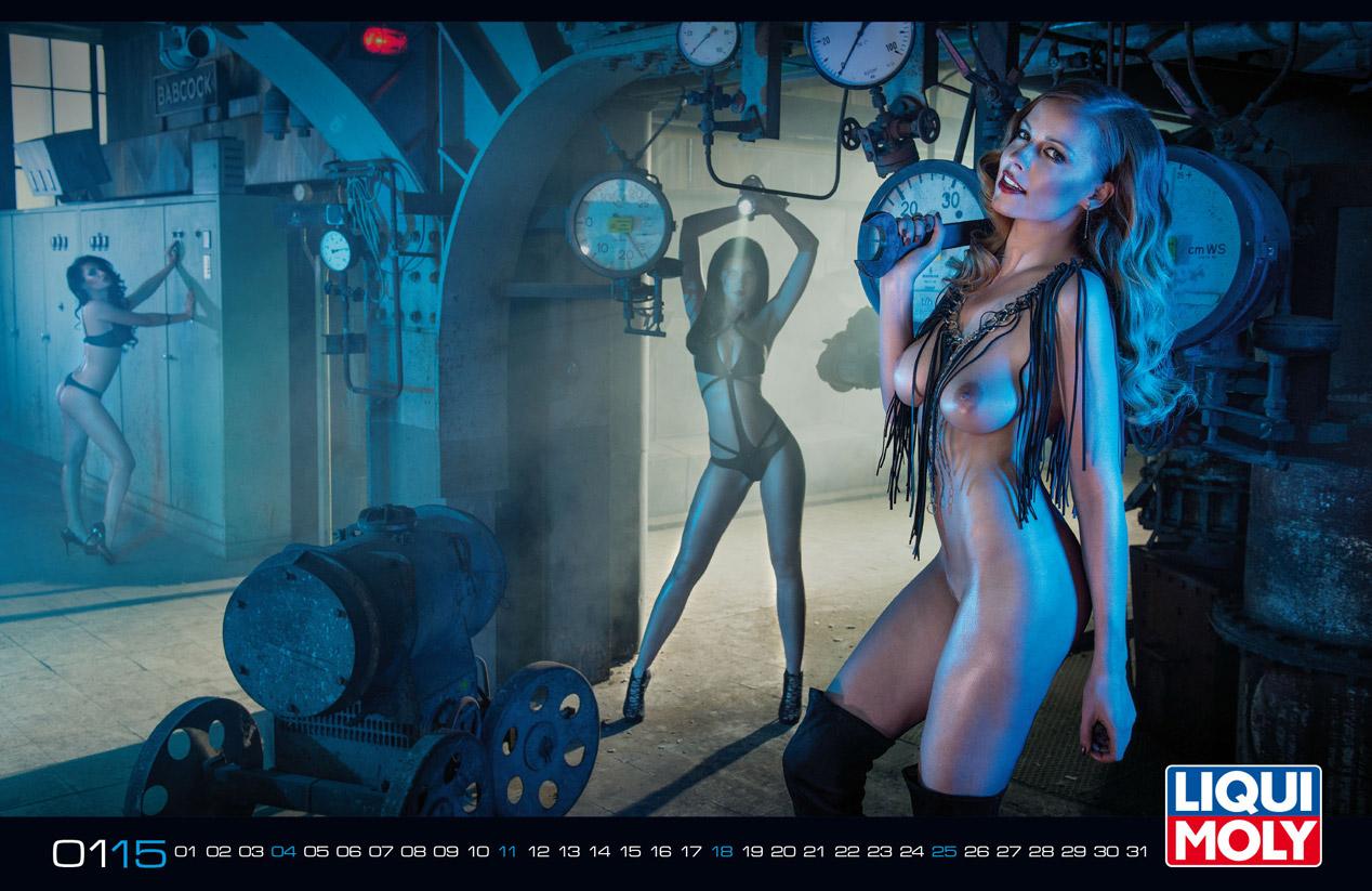 Calendario erótico Liqui Moly 2015