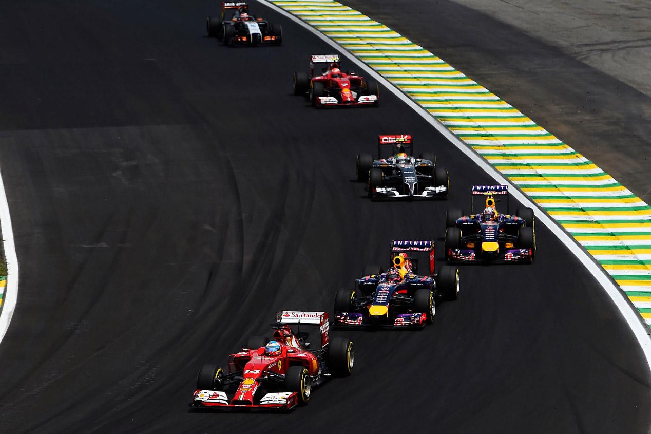 GP Brasil 2014: la carrera