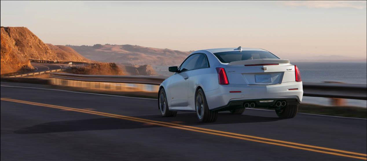 Cadillac ATS-V Coupé 2015