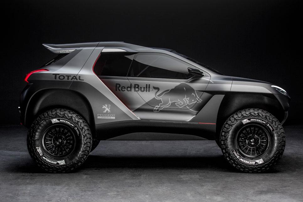 Peugeot vuelve al Dakar de la mano de Michelin