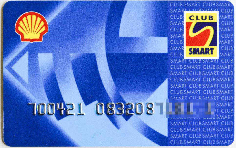 Tarjeta ClubSmart Shell