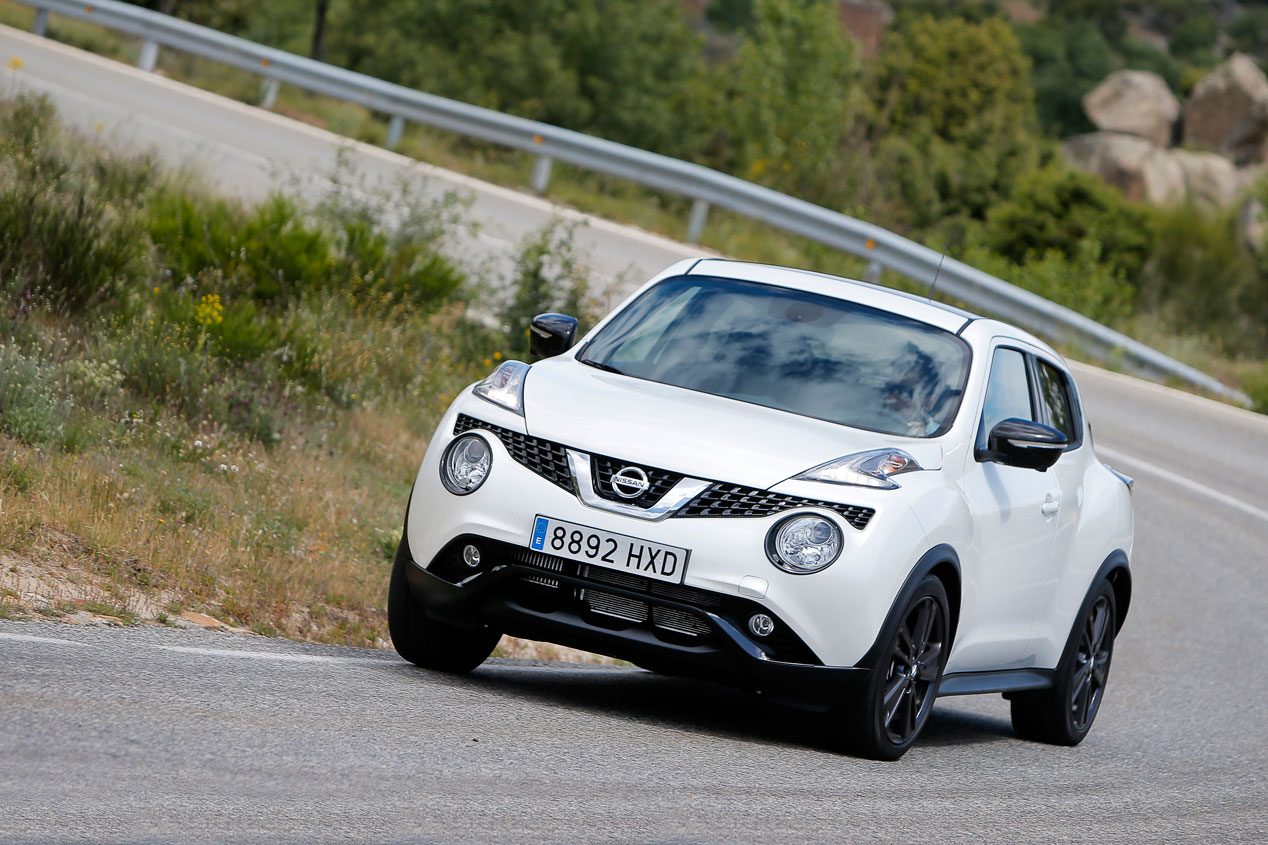 Prueba: Nissan Juke 1.2 DIG-T, provocador
