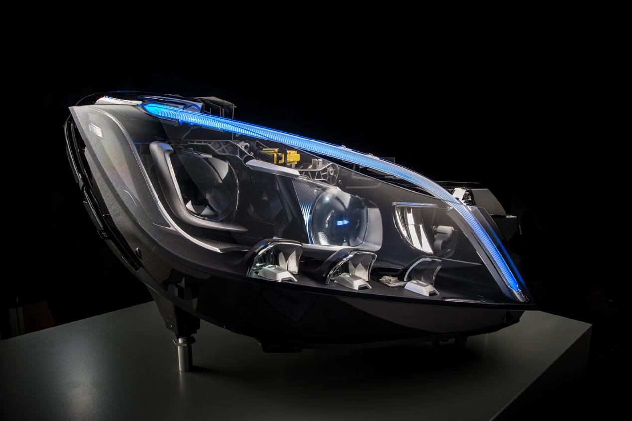 Los faros del futuro de Mercedes