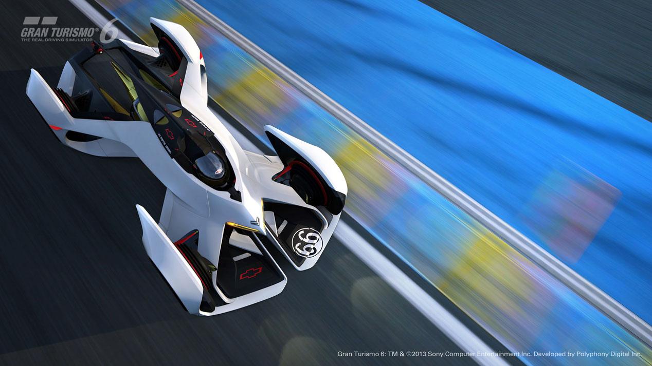 Chevrolet Chaparral 2X Vision Gran Turismo, ¡de ciencia ficción!