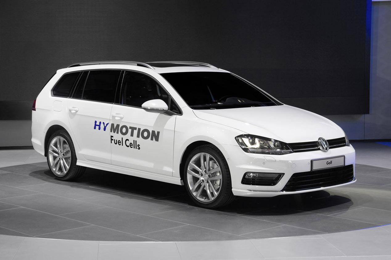 Volkswagen Golf Variant GS HyMotion de hidrógeno