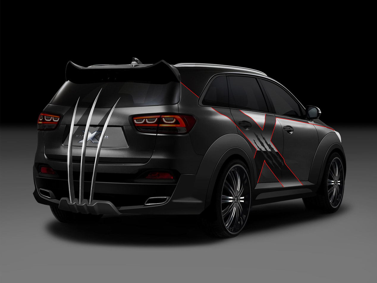 Kia X-Car inspirado en X-Men