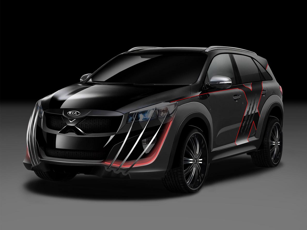 Kia X-Car inspirado en X-Men