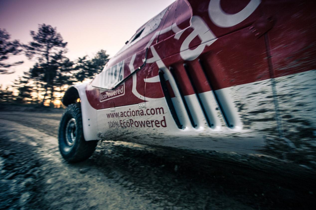 Acciona 100% EcoPowered, para el Dakar 2015
