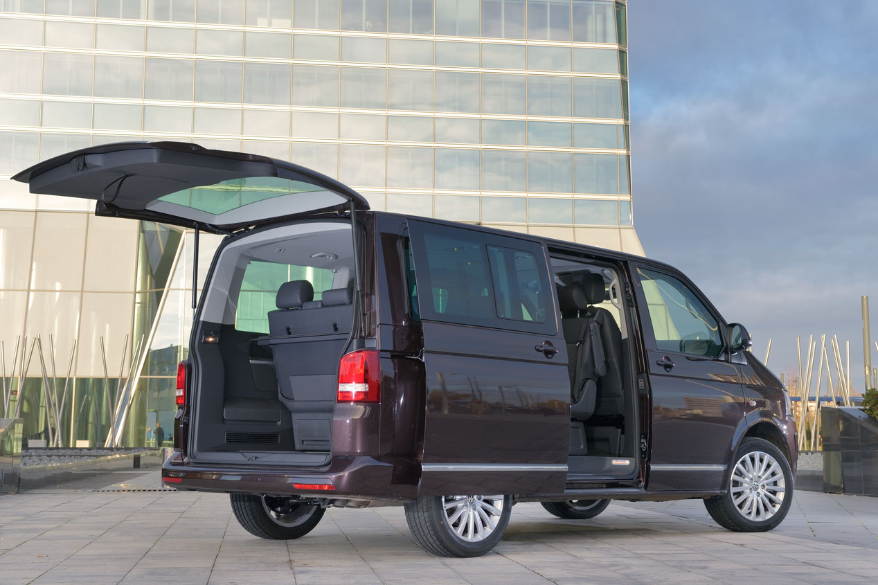 Contacto: Volkswagen Multivan, alternativa a SUVs y monovolúmenes