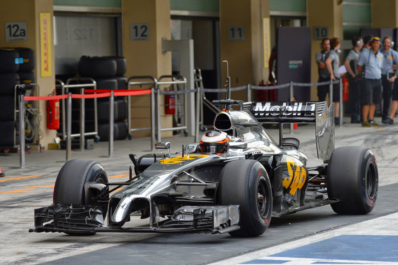 McLaren-Honda MP4-29H de Fernando Alonso