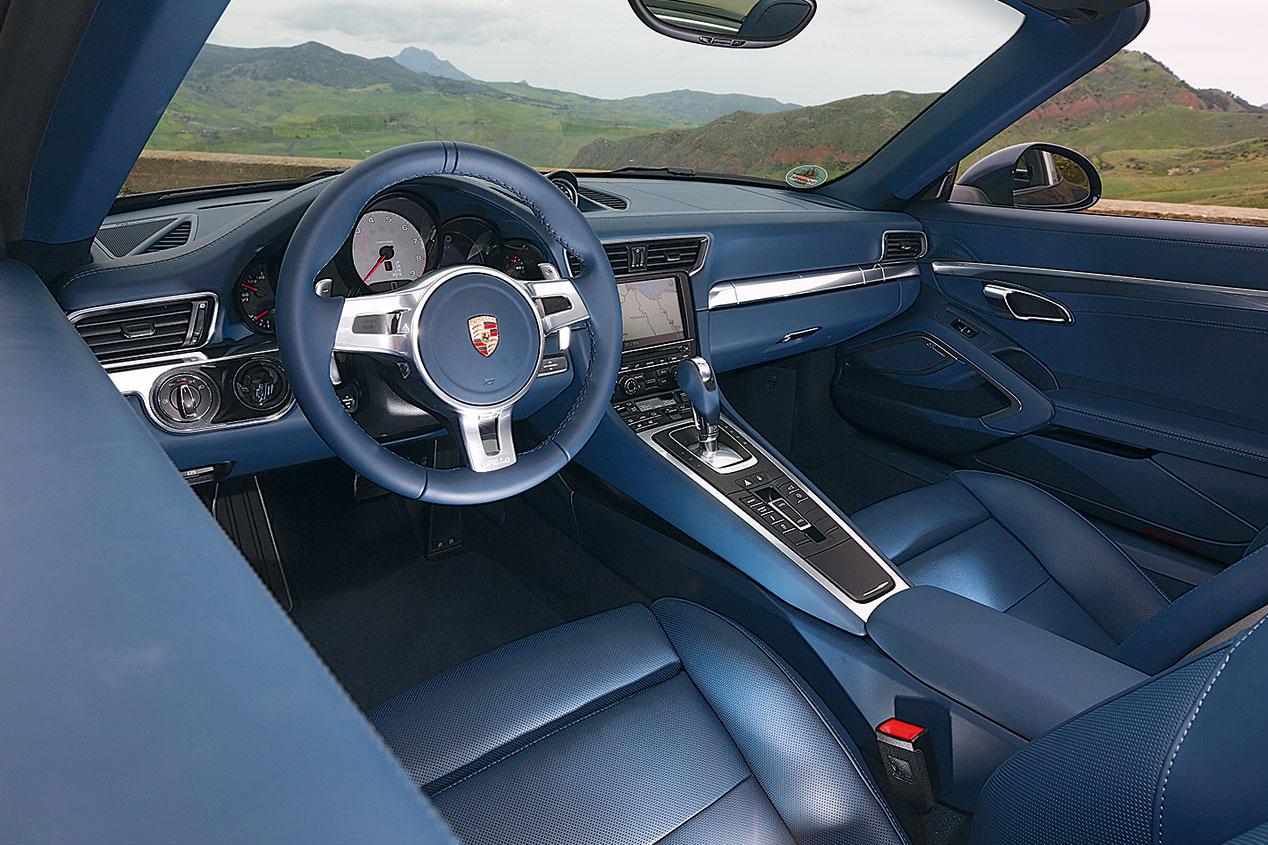 Prueba: Porsche 911 Targa 4S, lo mejor de dos mundos