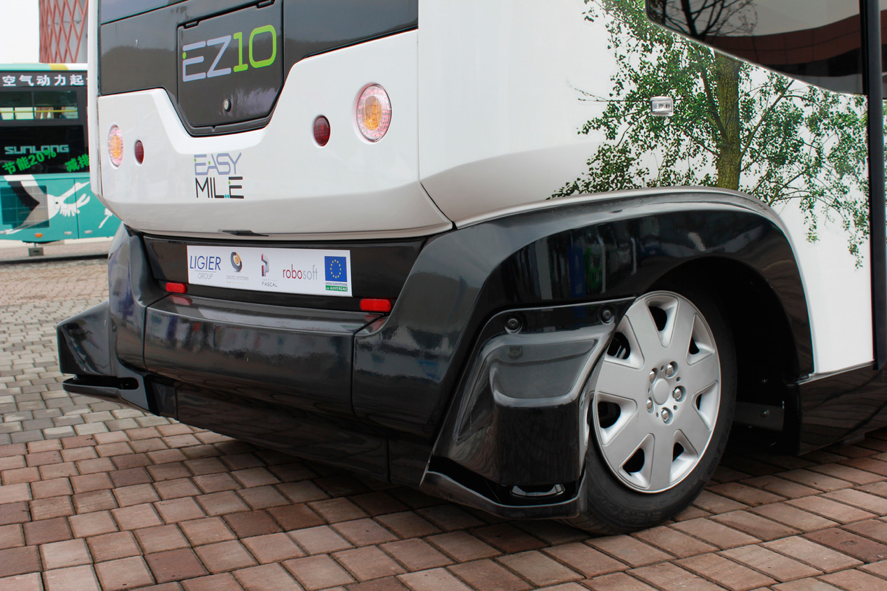 Challenge Bibendum: Ligier EZ-10, el 'ascensor' horizontal eléctrico