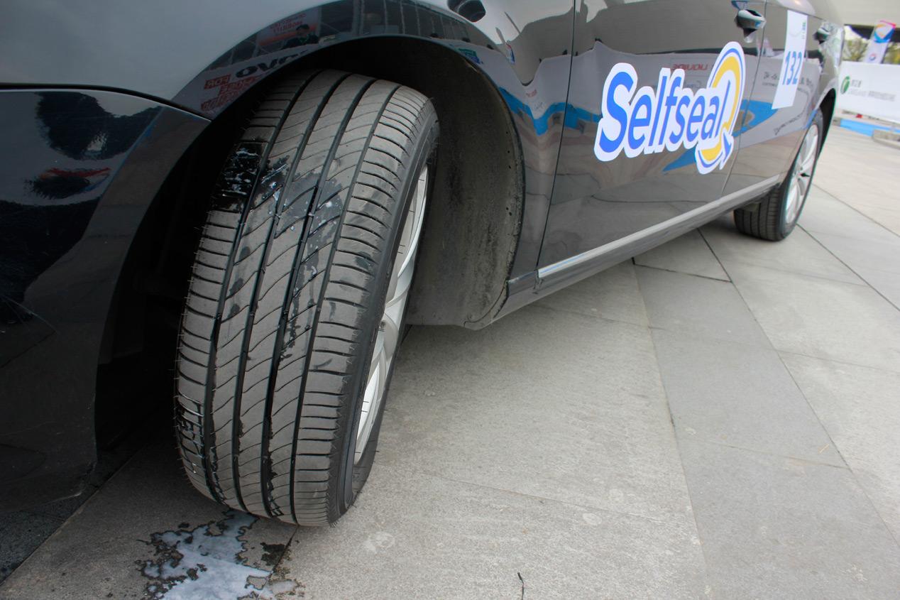 Challenge Bibendum: Michelin SelfSeal, el neumático fakir