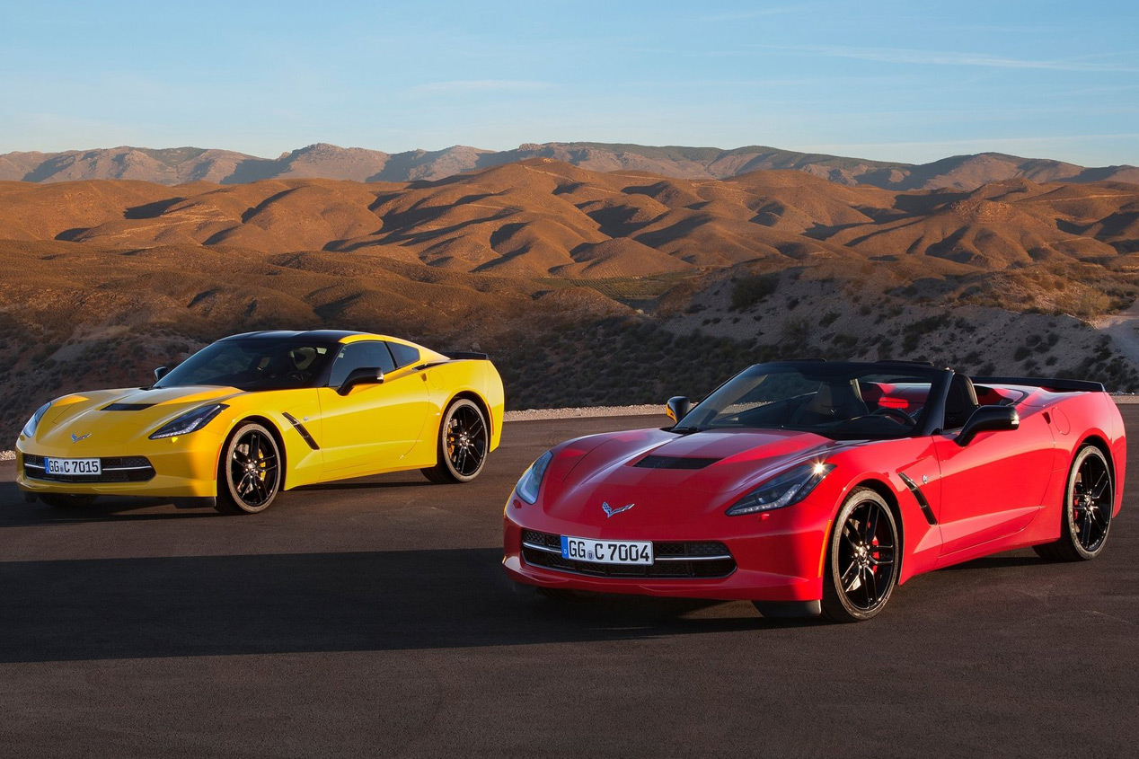 Chevrolet Corvette Stingray 2015 europeo