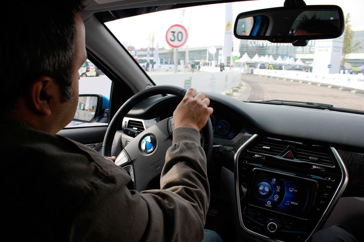 Challenge Bibendum: Denza EV, el eléctrico chino de Daimler y BYD