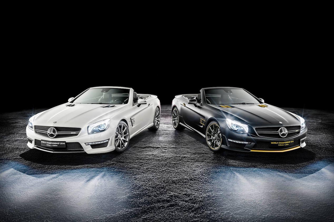 Mercedes SL63 AMG World Championship 2014 Collector's Edition