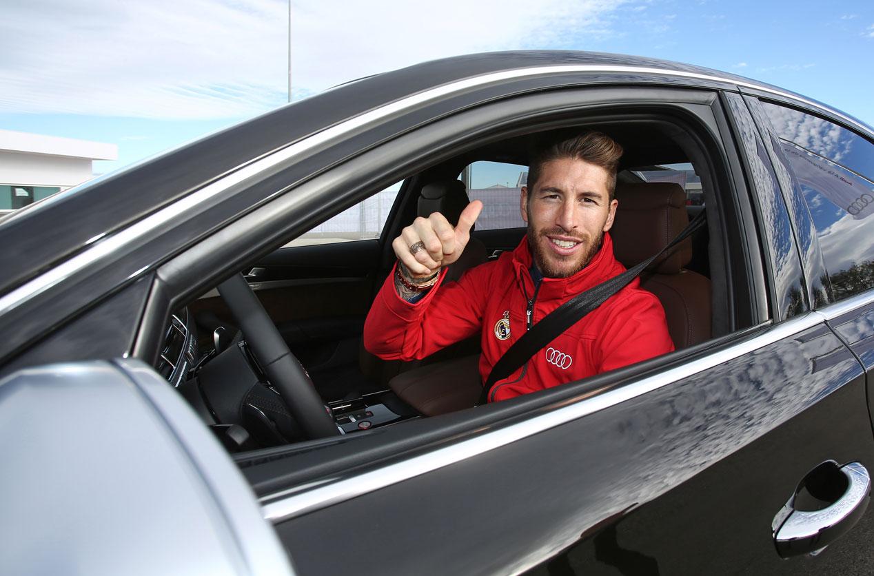 Audi que conducirán los jugadores del Real Madrid son...