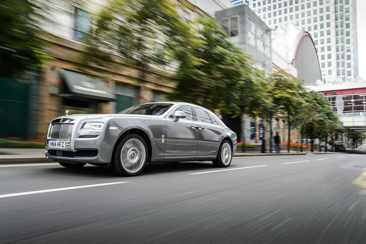 Rolls-Royce Ghost Series II, poder absoluto