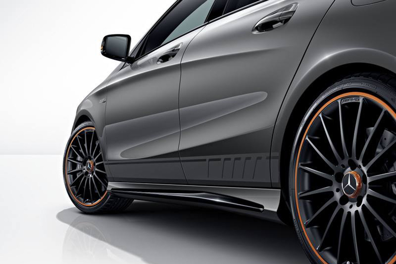 Mercedes CLA 45 AMG Shooting Brake OrangeArt Edition