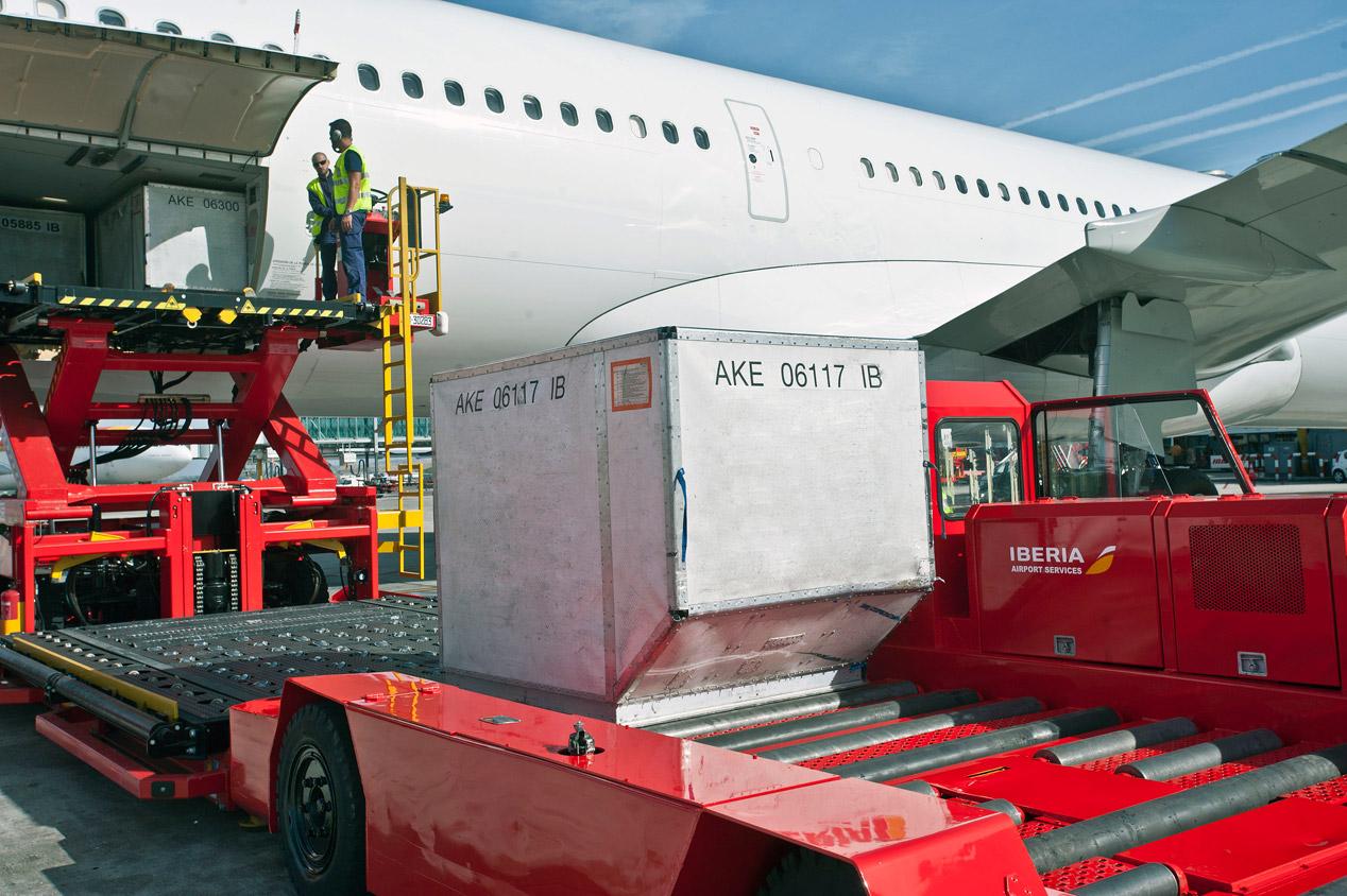 Los vehículos del aeropuerto