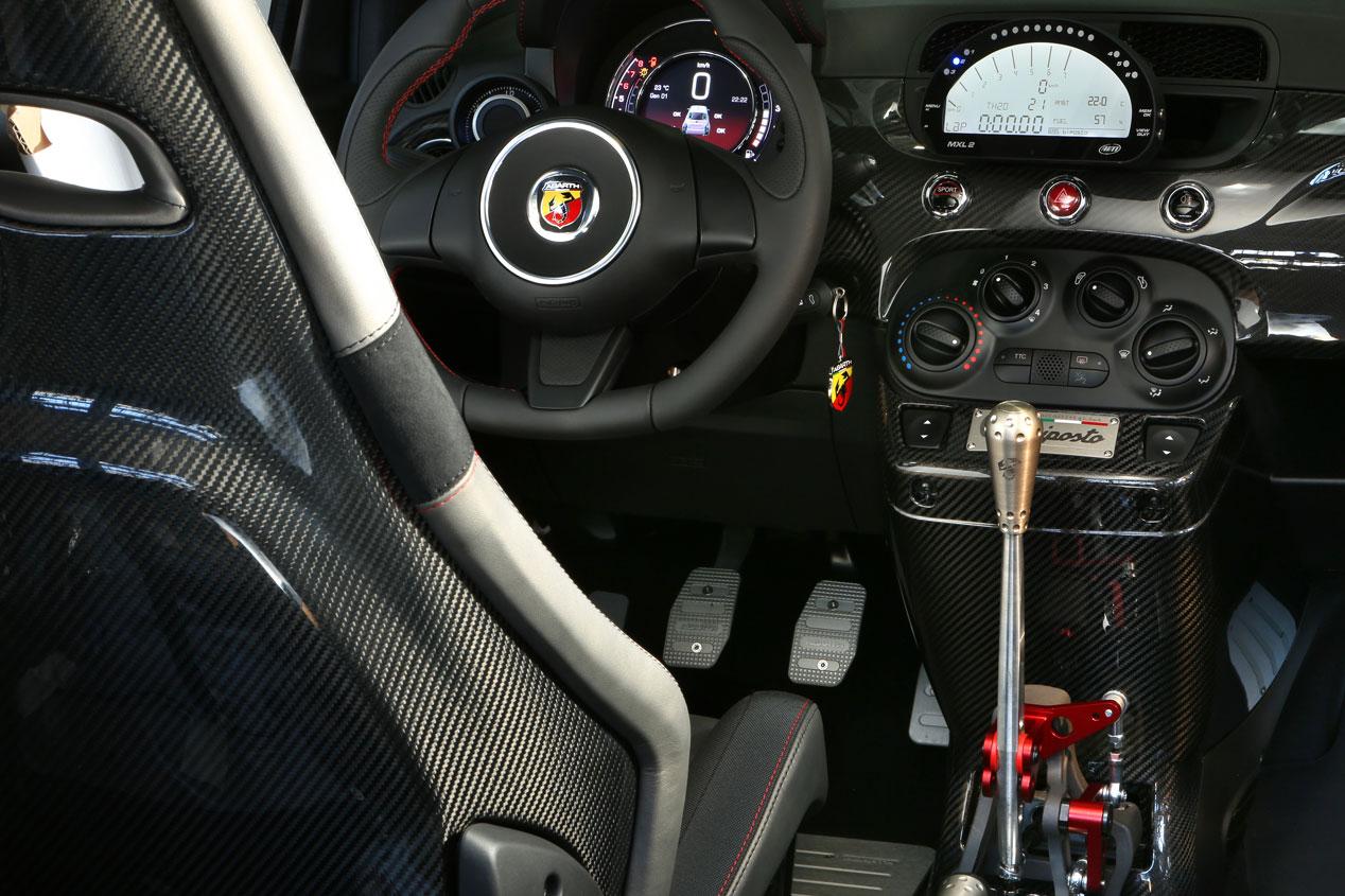 Contacto: Abarth 695 Biposto, el mejor coche del mundo