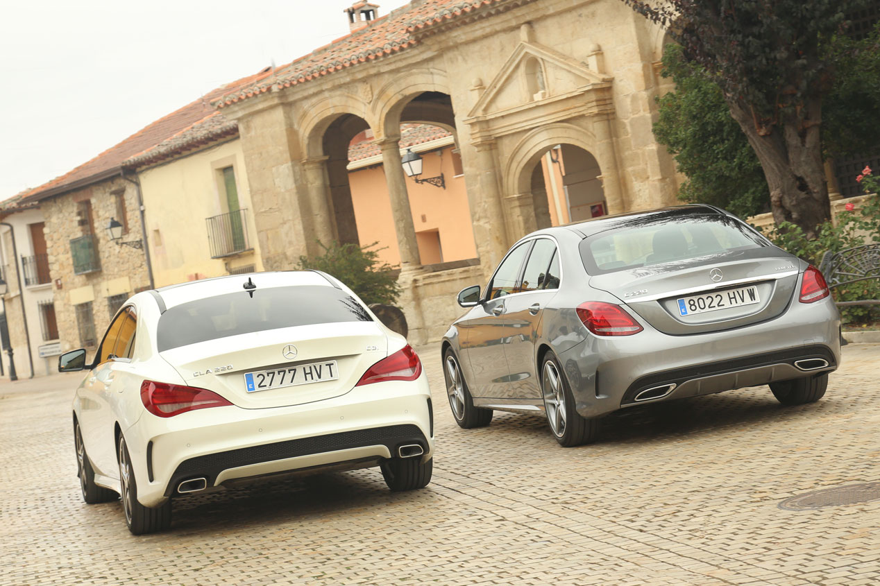 Mercedes CLA 220 CDI vs Mercedes C 220 BlueTEC