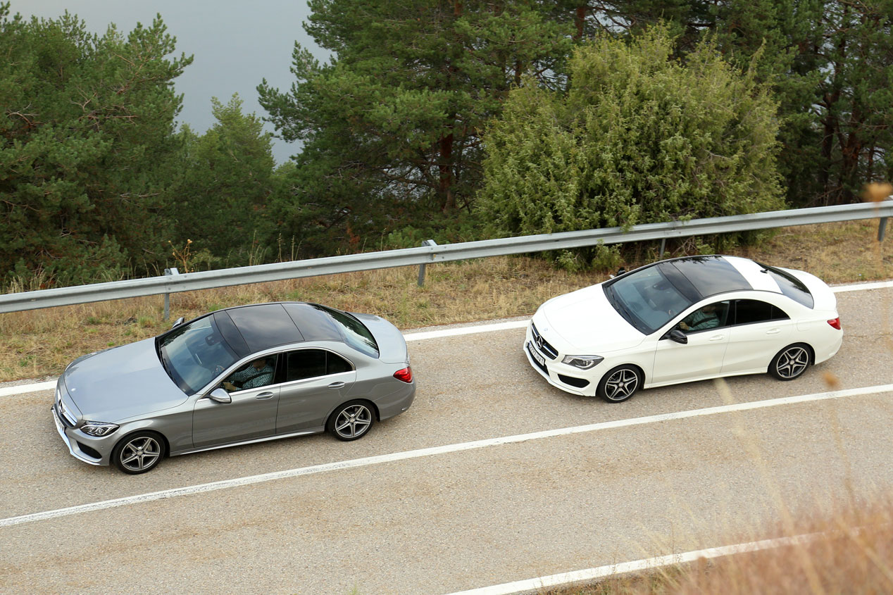 Comparativa: Mercedes CLA 220 CDI vs Mercedes C 220 BlueTEC