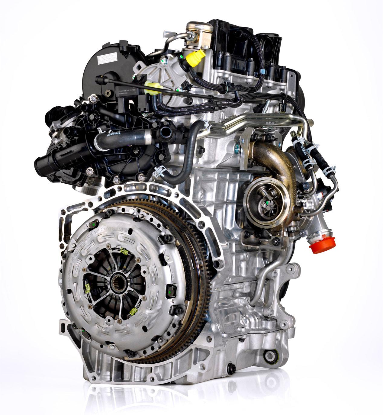 Volvo y su nuevo motor de 3 cilindros