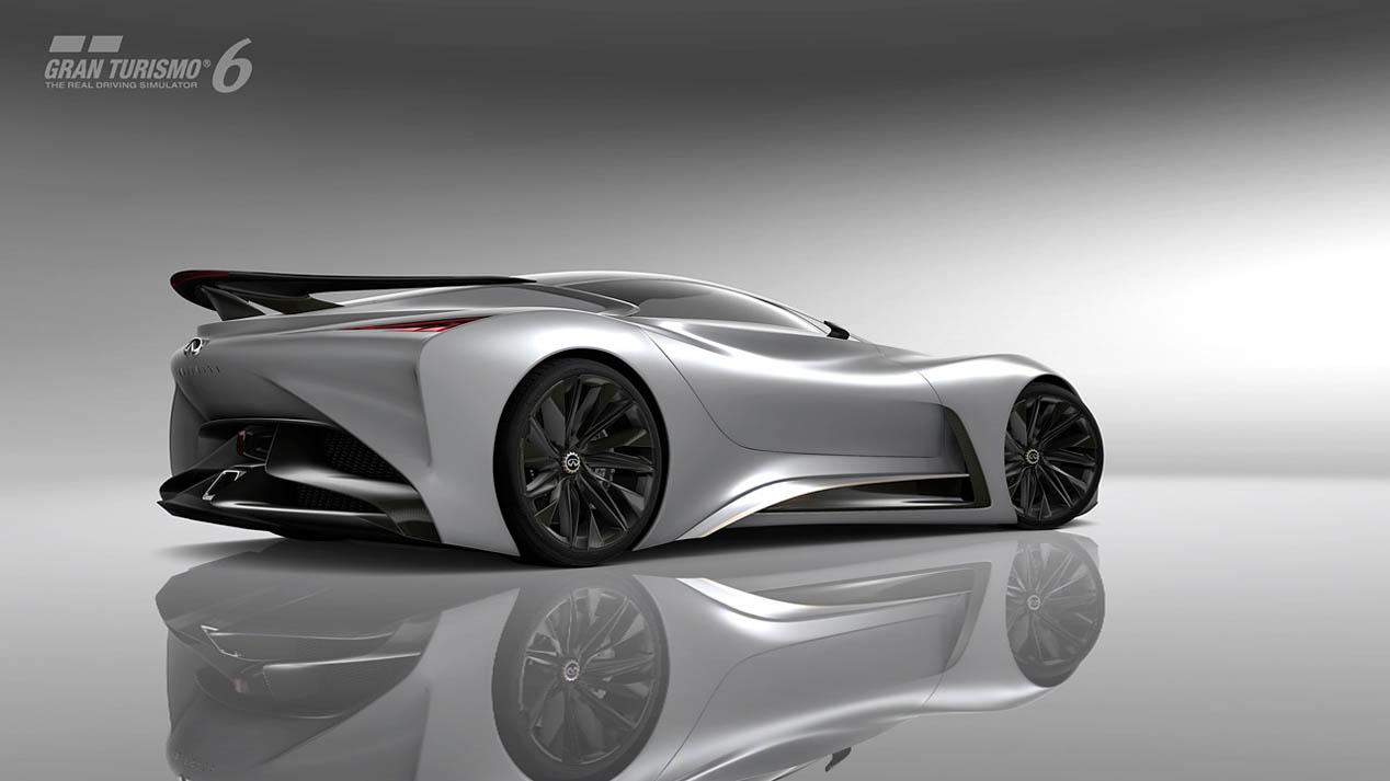 Infiniti Concept Vision Gran Turismo, otro japonés en la lucha virtual