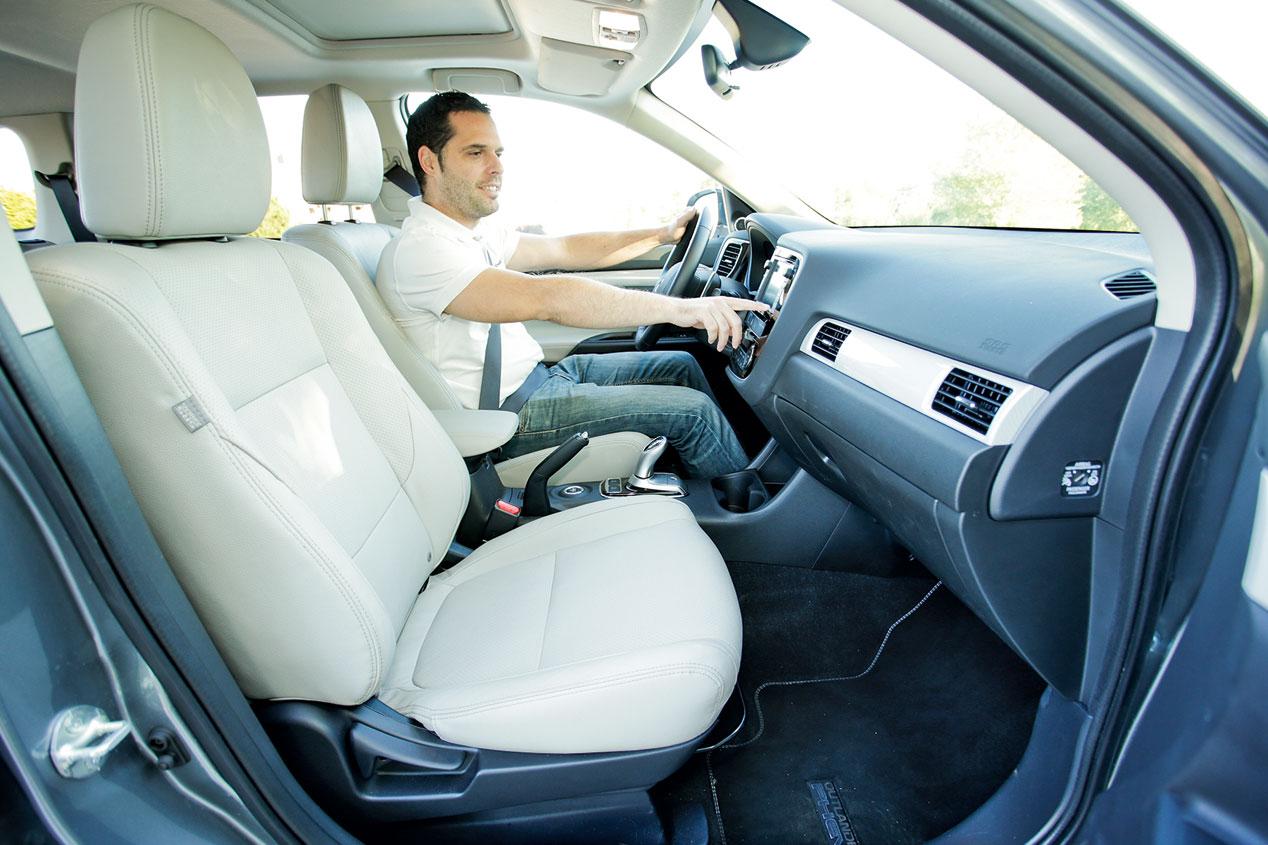 Prueba: Mitsubishi Outlander PHEV, el adelantado
