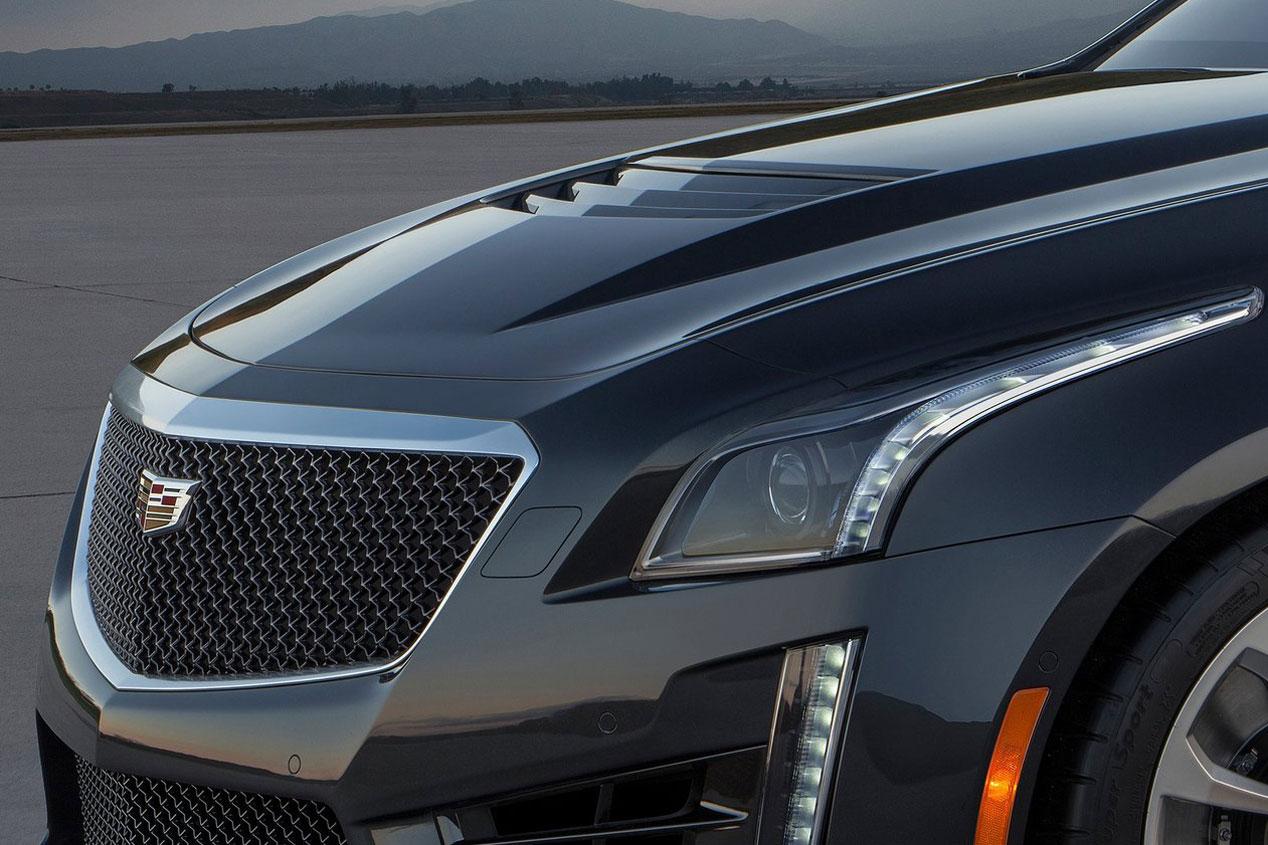 Cadillac CTS-V, un americano para destronar a BMW M5 y Mercedes E63 AMG