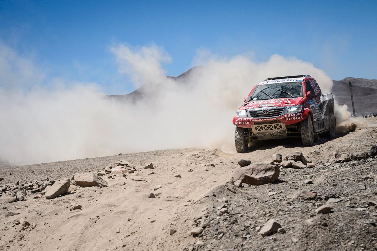 Dakar 2015: quinta etapa