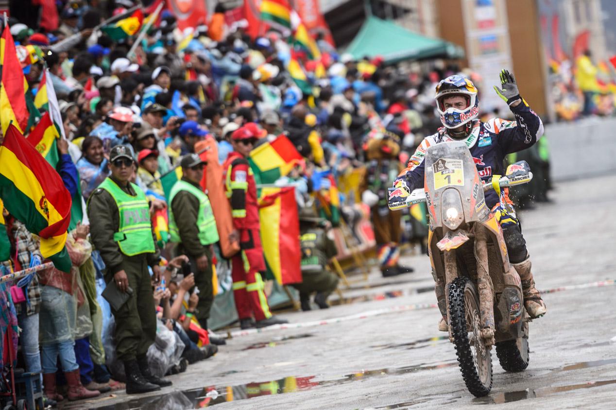 Dakar 2015: etapas maratón