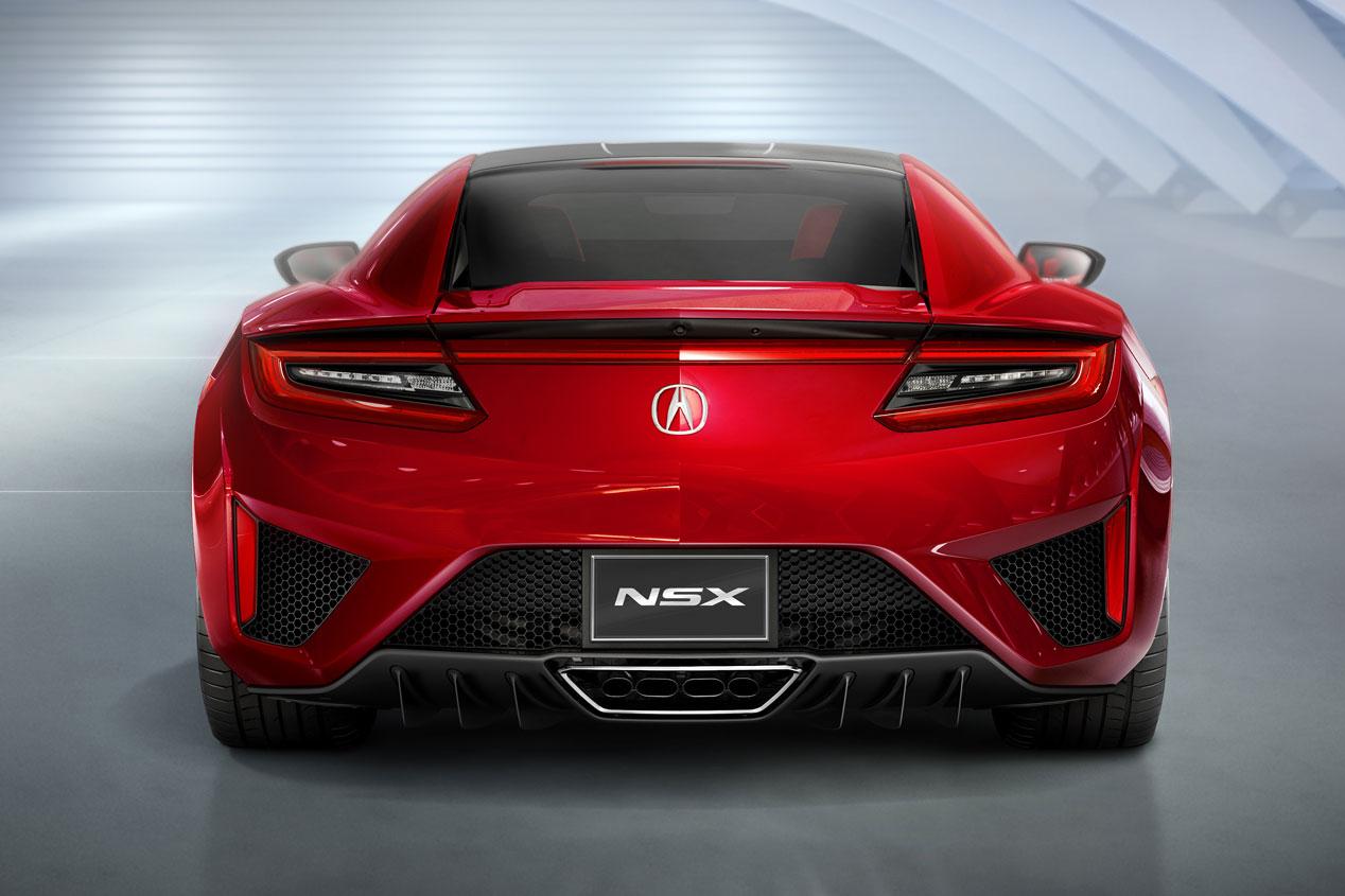 Honda NSX, el súper deportivo japonés