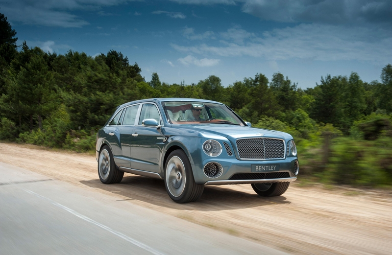 Bentley Bentayga, el SUV de Bentley
