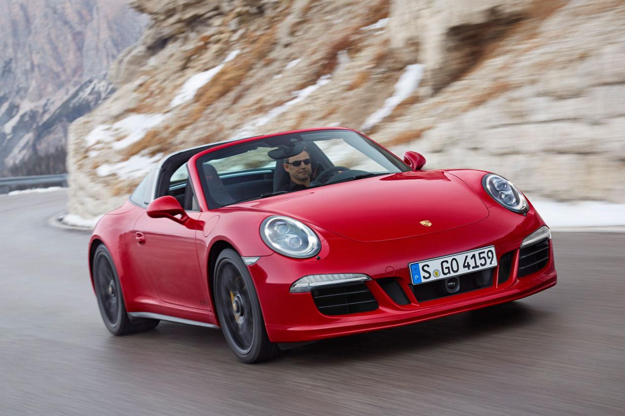 Porsche 911 Targa 4 GTS y Cayenne Turbo S, deportividad extra