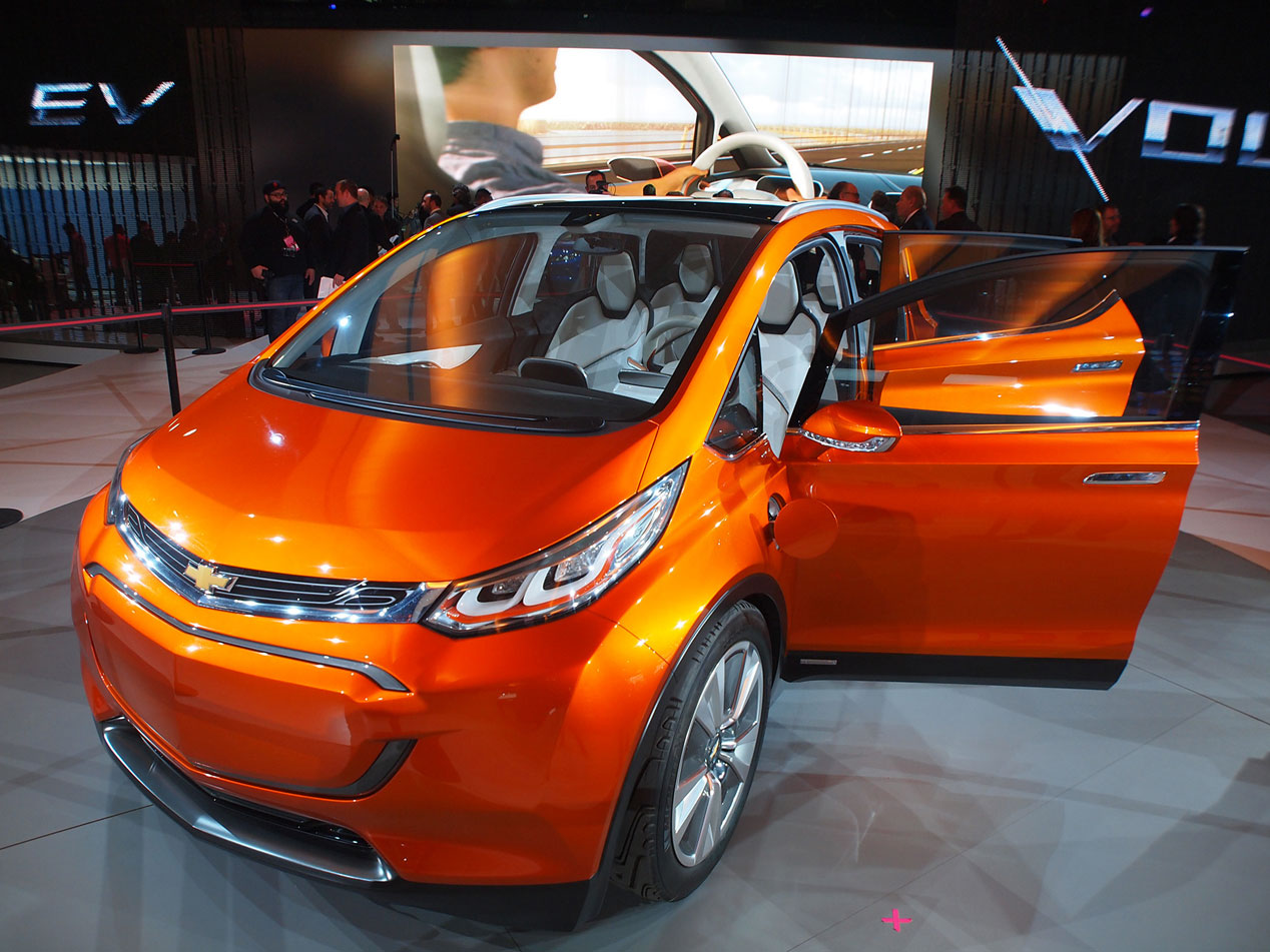 Chevrolet Bolt, el eléctrico de los más 300 km de autonomía