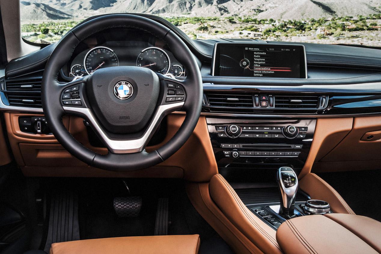 BMW X6 2015 prueba Interior