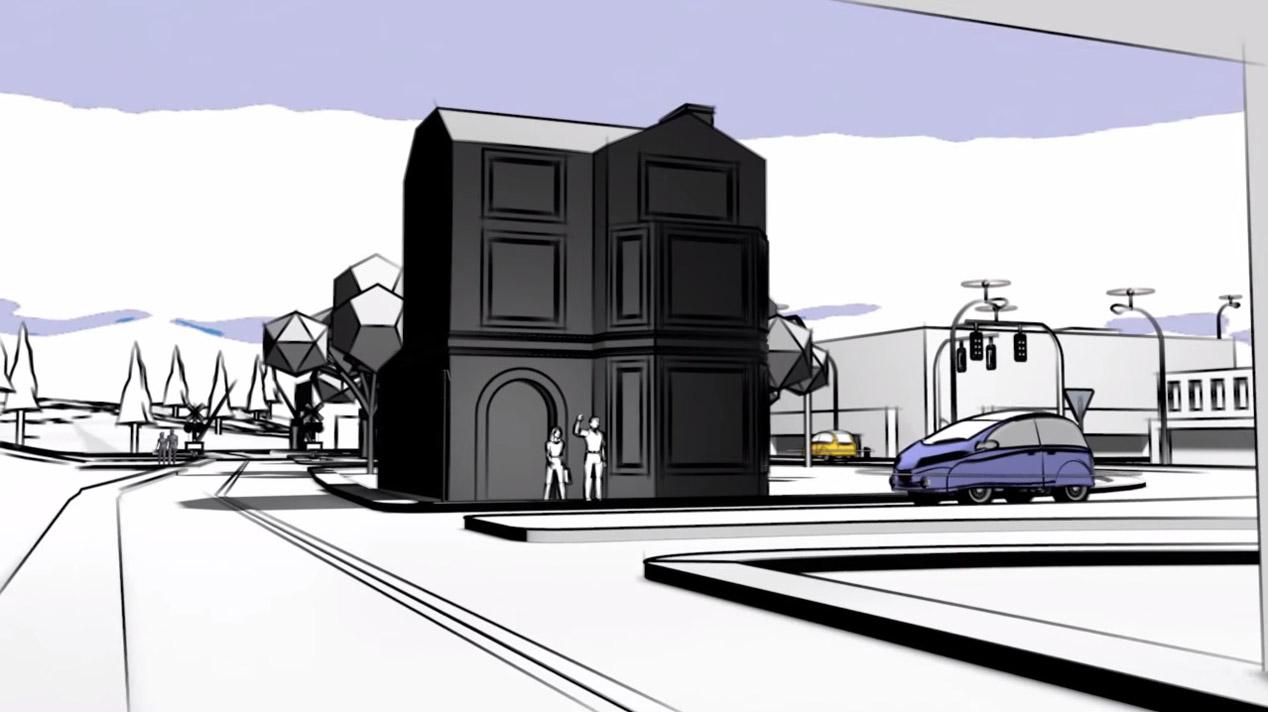 M City, la ciudad sin conductores del futuro