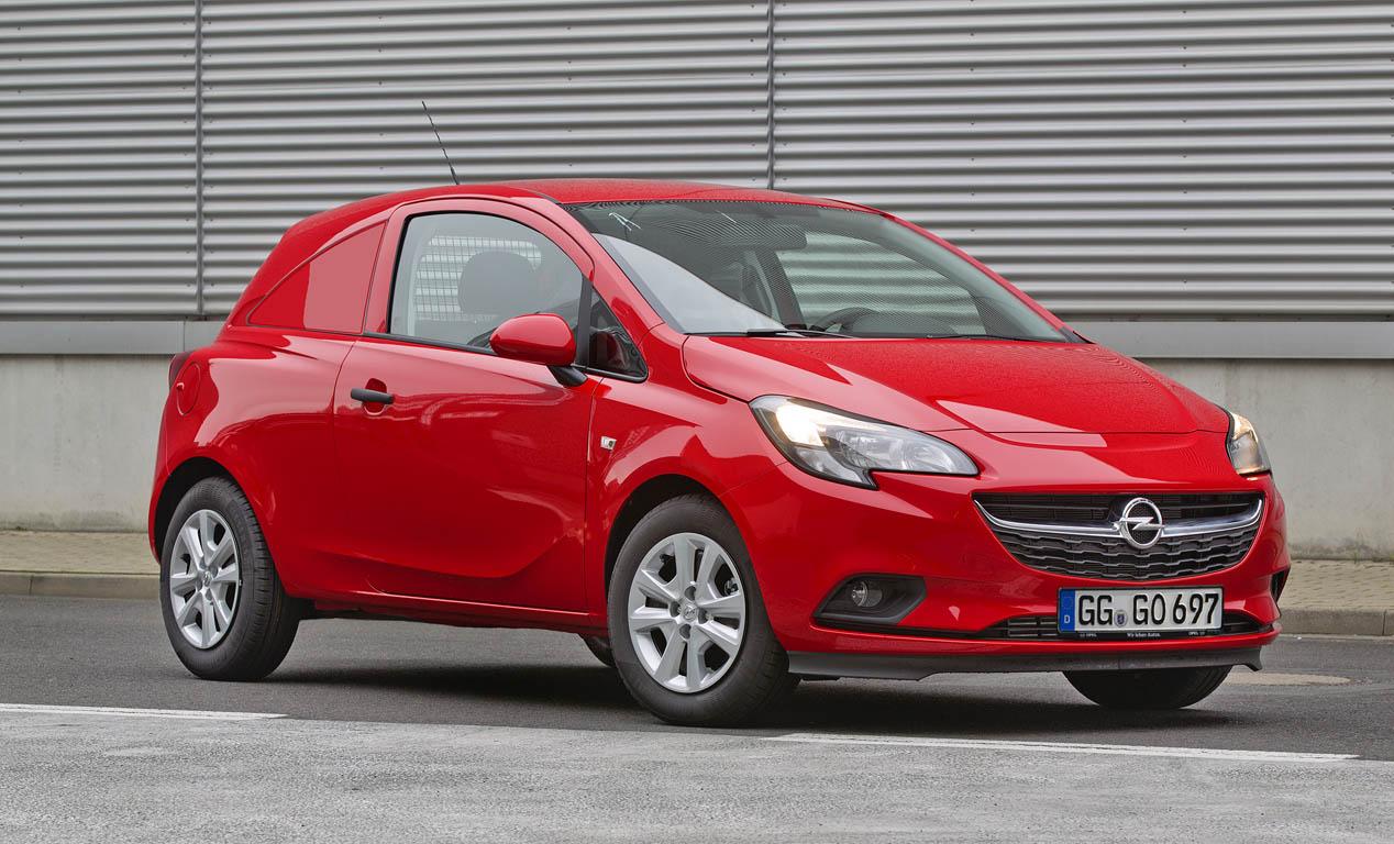 Opel Corsavan 2015