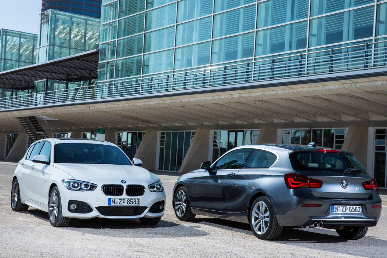 BMW Serie 1 2015, contraataque