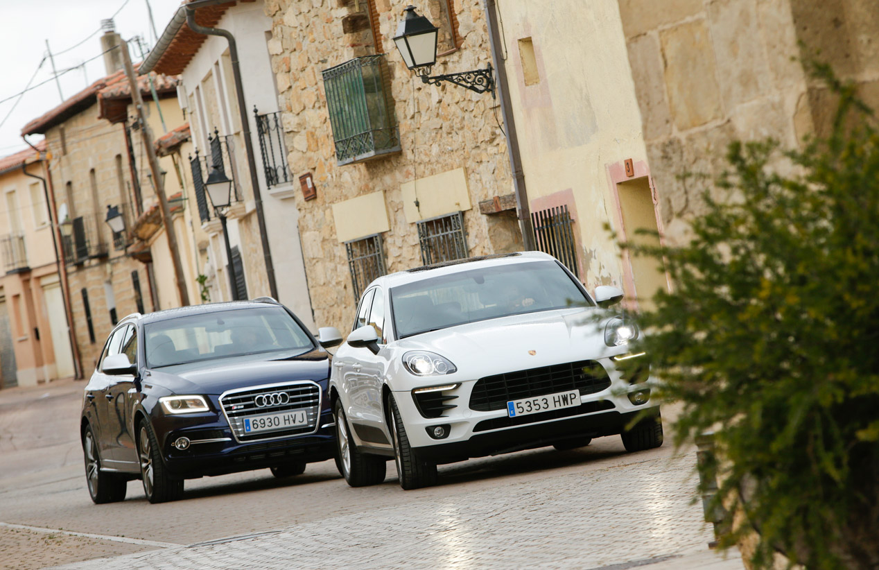 Comparativa: Audi SQ5 TDi vs Porsche Macan S Diesel