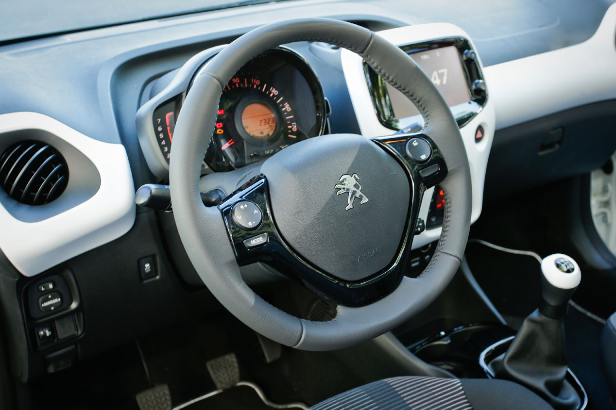Prueba: Peugeot 108 1.2 Pure Tech, la ciudad a sus pies