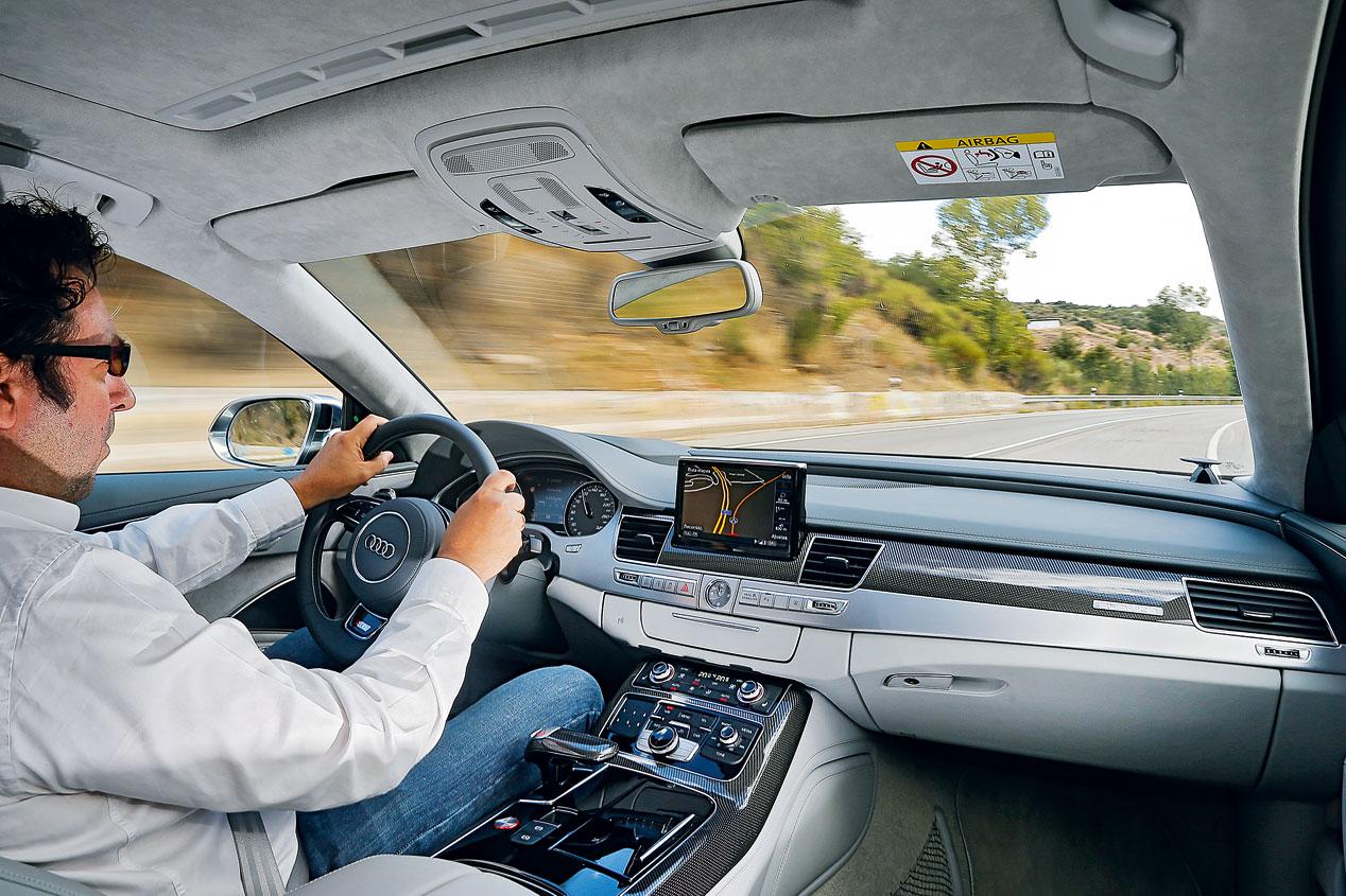 Prueba: Audi S8, señor deportivo