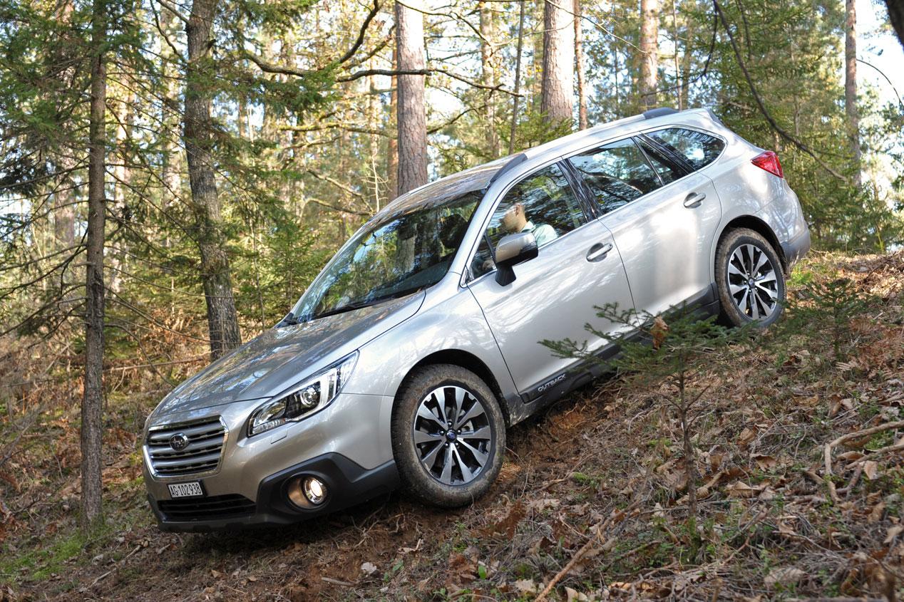 Contacto: Subaru Outback, aventurero con alma